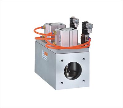 GDQ-JS三通式氣動高真空擋板閥